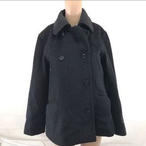 J.Crew size small double breasted wool blend